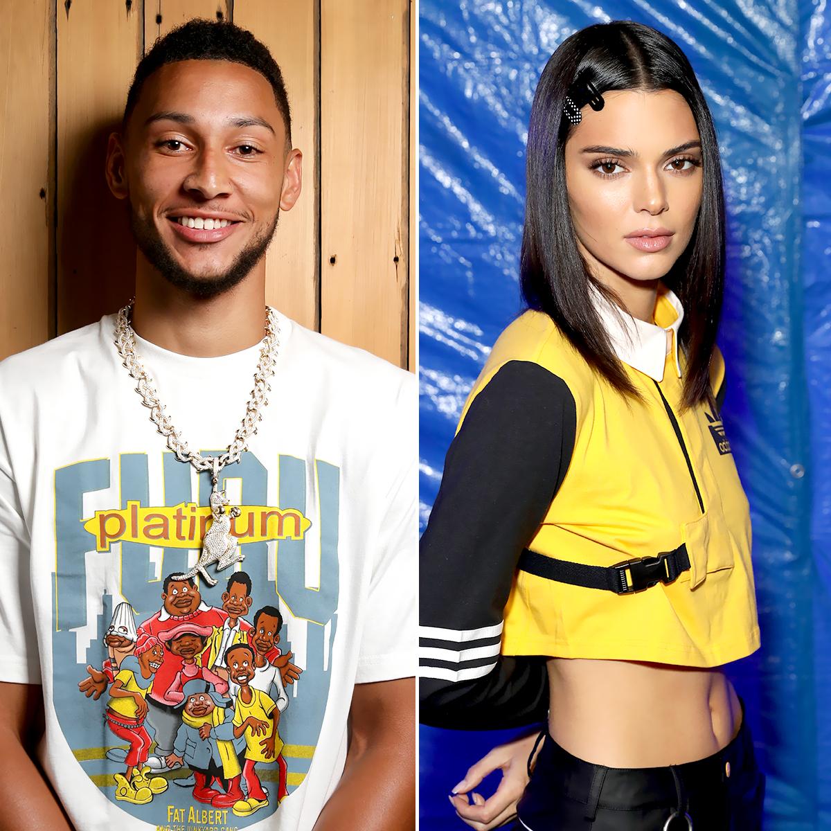 promo code 5b3e7 c65bc Ben Simmons' Sister Seemingly Shades Kendall Jenner Before ...