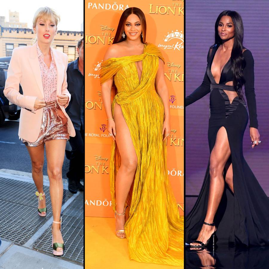 Best Legs Feature Taylor Swift, Beyonce, Ciara