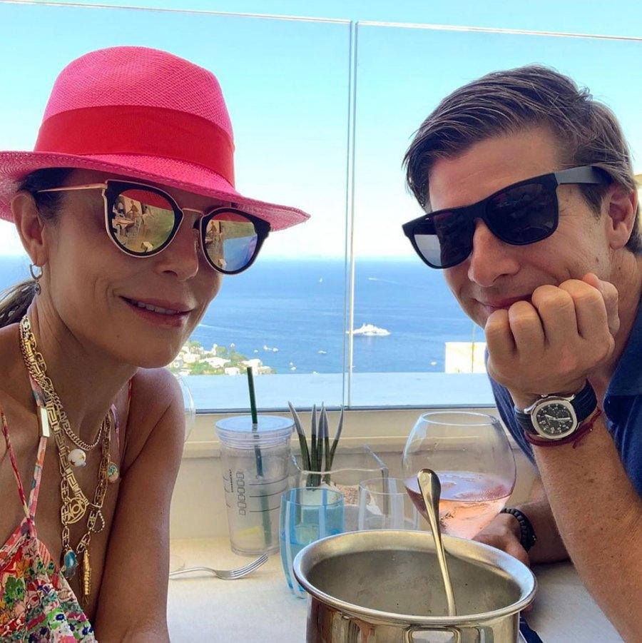 Bethenny Frankel Romantic Vacation With Paul Bernon