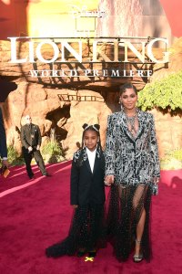 Beyonce and More Bring Their Families to 'The Lion King' Premiere
