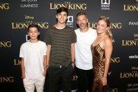 Eddie Cibrian LeAnn Rimes and More Bring Their Families to 'The Lion King' Premiere