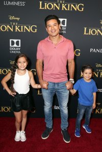 Mario Lopez and More Bring Their Families to 'The Lion King' Premiere