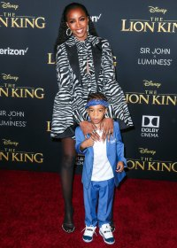 Kelly Rowland and More Bring Their Families to 'The Lion King' Premiere