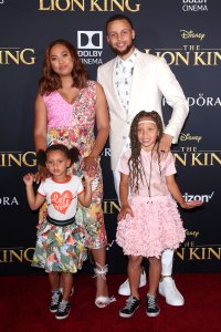 Stephen Curry Ayesha and More Bring Their Families to 'The Lion King' Premiere