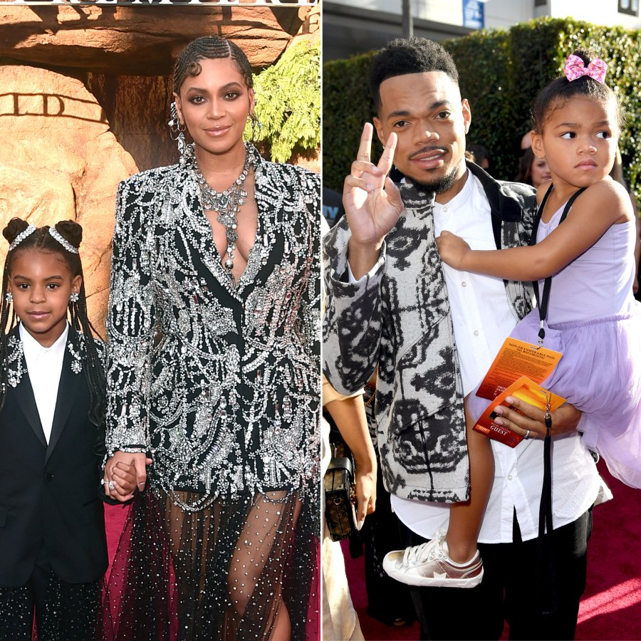 Beyonce, Chance the Rapper, Eddie Cibrian and More Bring Their Families to 'The Lion King' Premiere