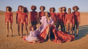 Blue Ivy Cameo in Beyonce Spirit Music Video