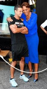 Brendan McLoughlin seen at GMA for the first time after the wedding Miranda Lambert
