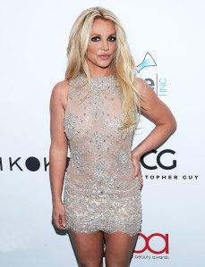 Britney Spears February 25, 2018