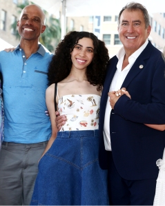 Cameron Boyce's Dad and Sister Join 'Descendants' Director Kenny Ortega at Walk of Fame Ceremony