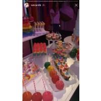 Cardi B Celebrates Kulture Birthday Rainbow Desserts