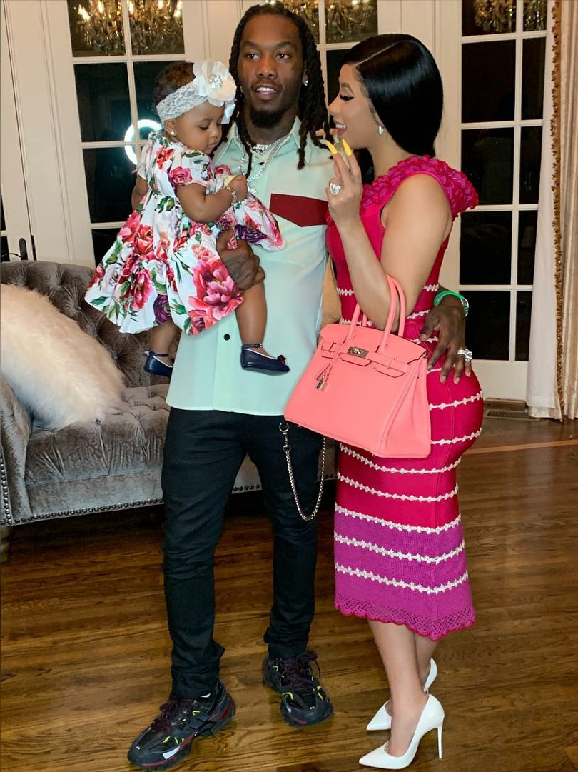 Cardi B Marks Daughter Kulture S 1st Birthday With Rainbow Sweets