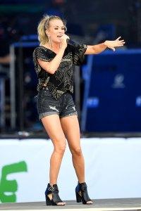Carrie Underwood Best Legs In Hollywood