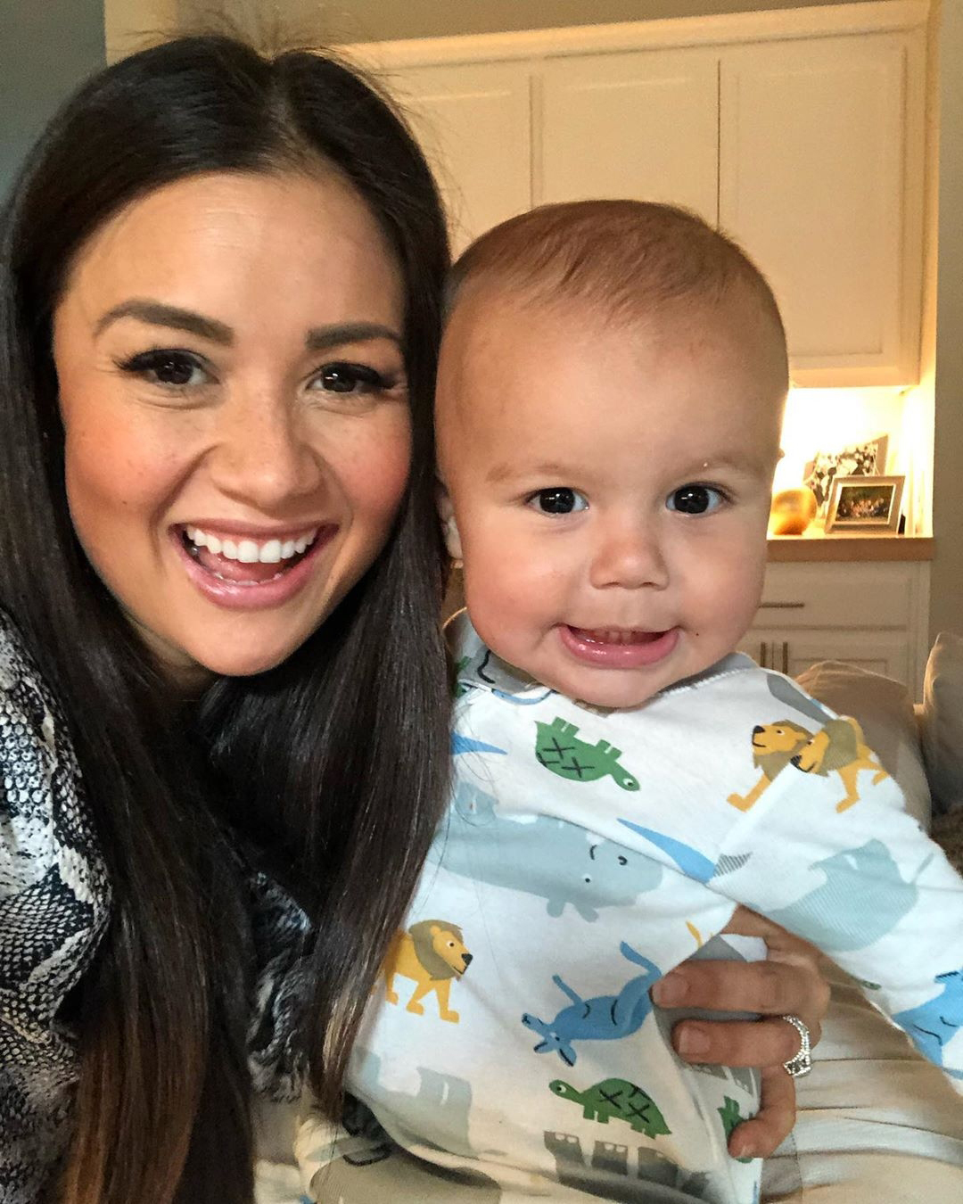 """Catherine Giudici and Sean Lowe Family Album - The pregnant star wrote that she and Isaiah were """"a coupla [sic] middle children"""" after telling her followers that she is expecting."""