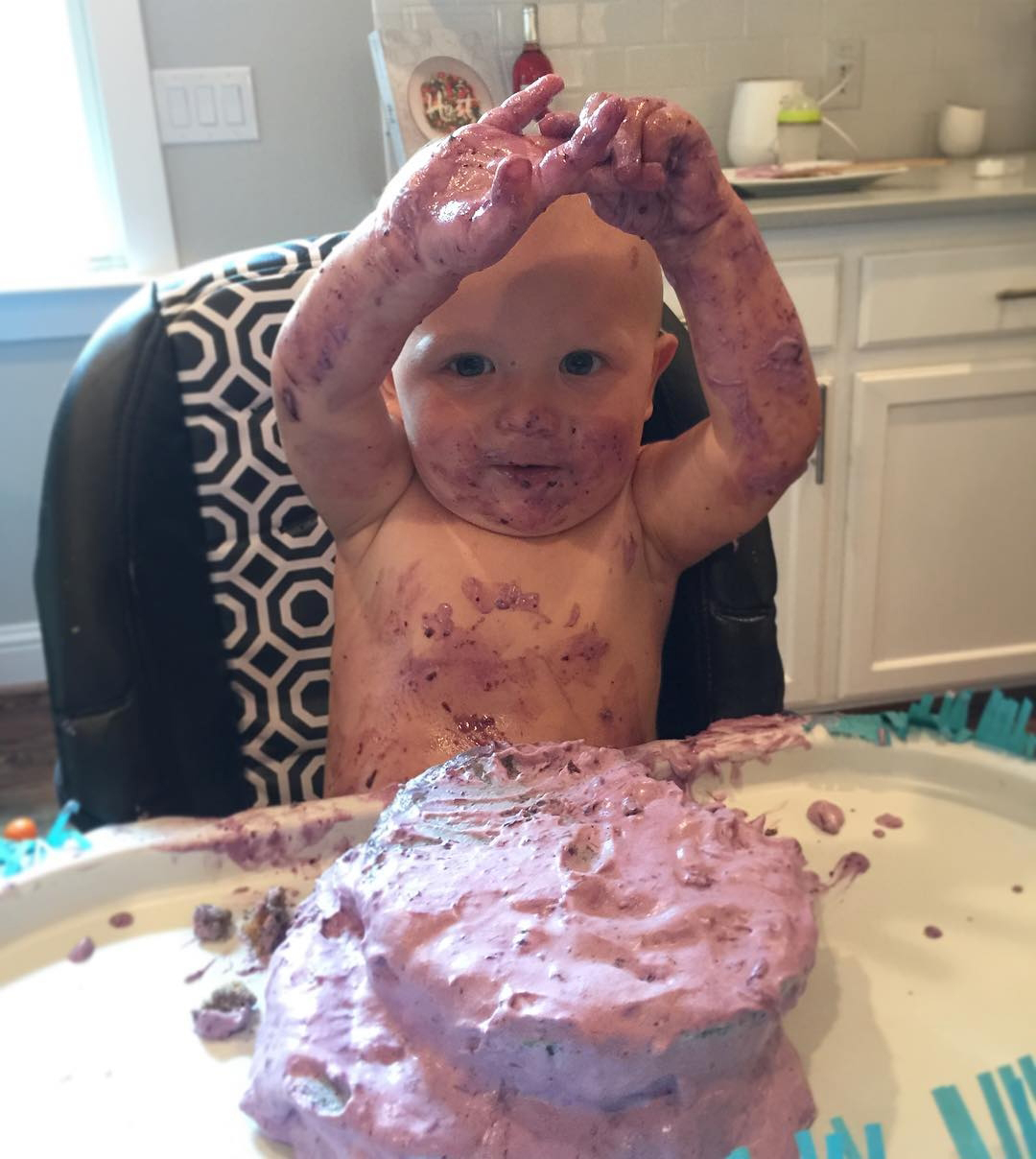 Catherine Giudici and Sean Lowe Family Album - Happy 1st birthday!