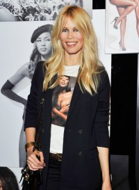 Celebs Wearing Celebs - Claudia Schiffer Wears Naomi Campbell