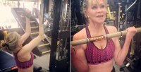 Celebs at the Gym Melanie Griffith