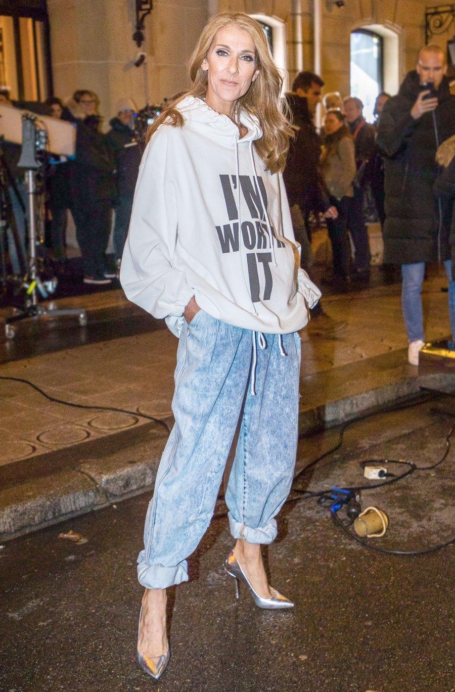 Celine Dion Sweatshirt January 30, 2019