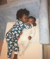 Chicago West's Baby Album Cuddled Up