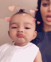 Chicago West's Baby Album Fun With Filters