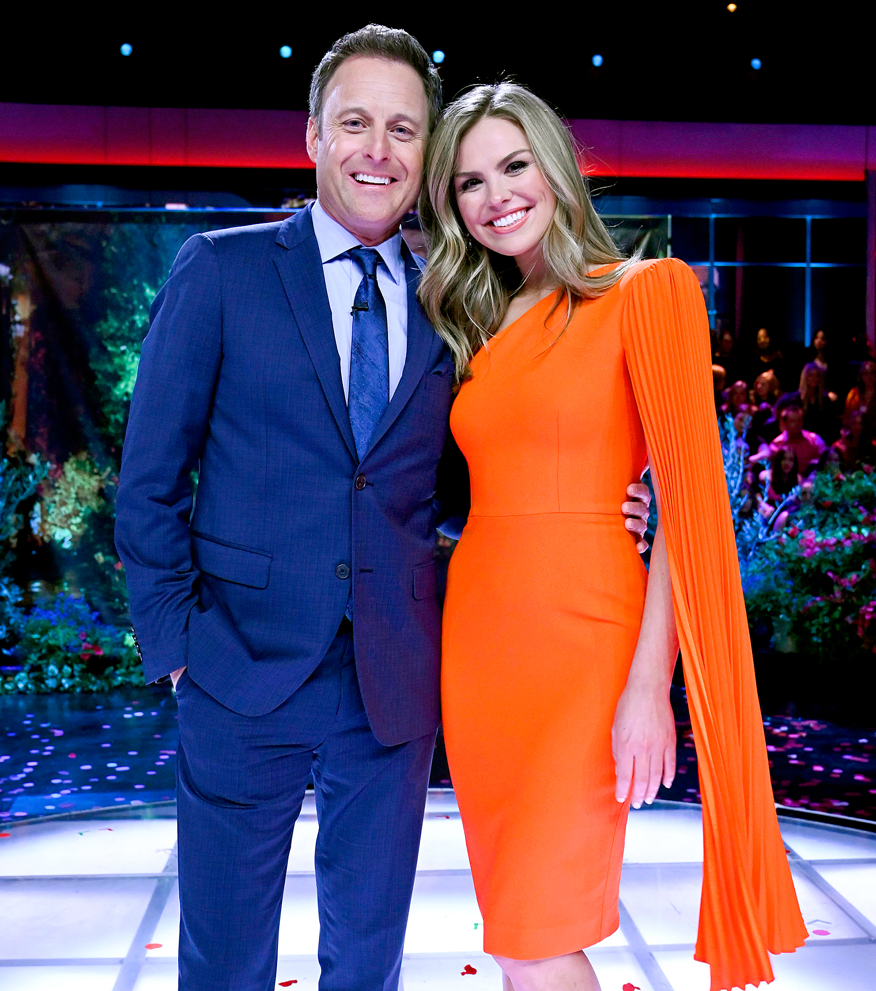 Chris Harrison and Hannah Brown