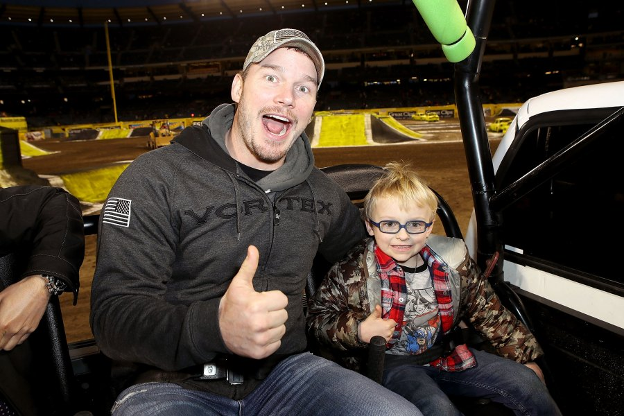 Chris Pratt Hopes to Get 'Cool Dad Points' With Son Jack, 6, With 'Jurassic Park' Ride