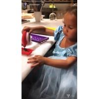 Chrissy Teigen, John Legend Make Chocolates With Daughter Luna