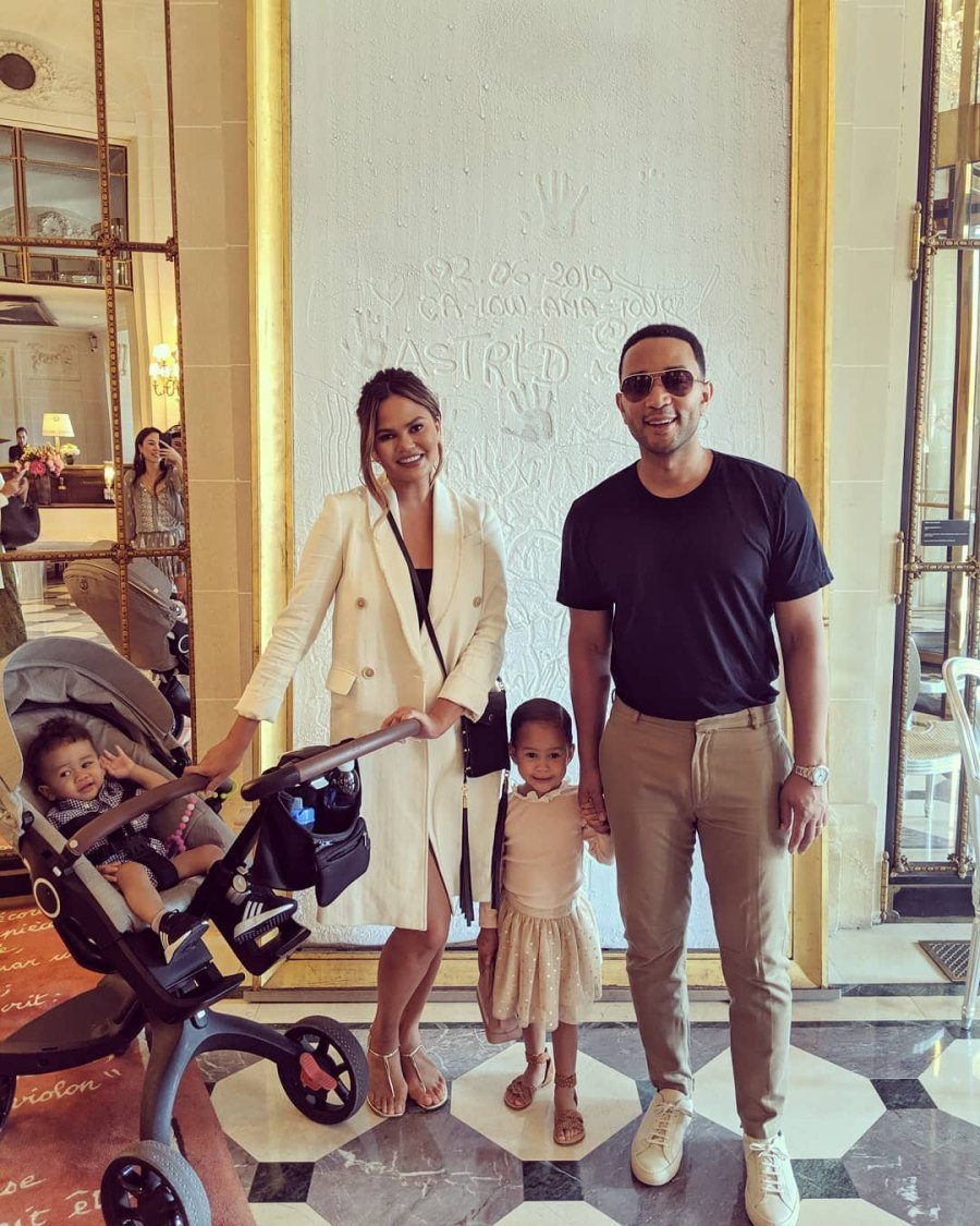 Chrissy Teigen and John Legend's Summer Vacation Album With Luna and Miles