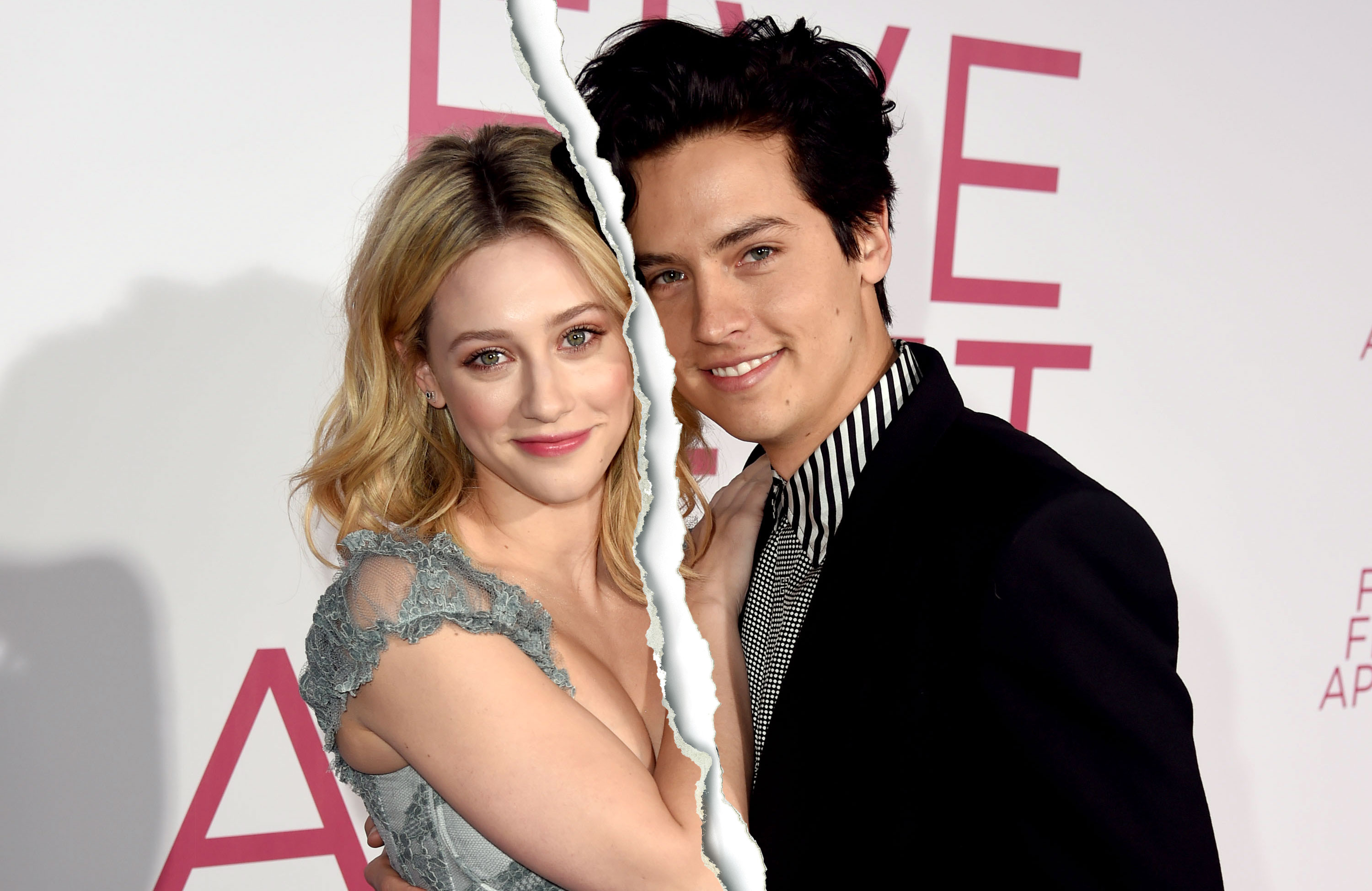 Cole Sprouse and Lili Reinhart Split