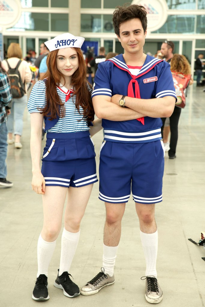 Comic Con Cos Play Stranger Things