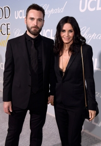 Courteney Cox Cares for Boyfriend Johnny McDaid After Injury