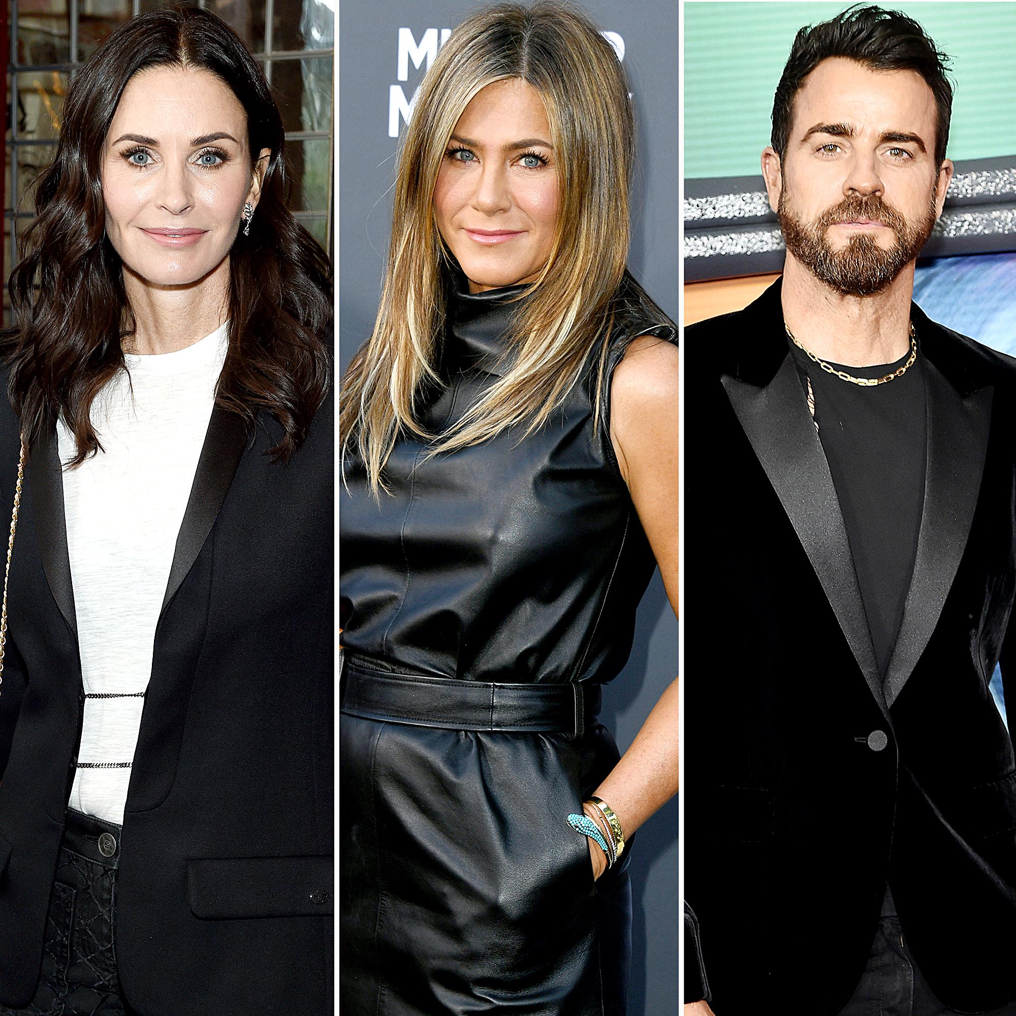 Courteney Cox Posts Sweet Message After Jennifer Aniston's