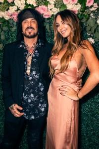 Courtney and Nikki Sixx First Child