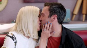 David and Donna Share a Kiss in First BH90210 Teaser