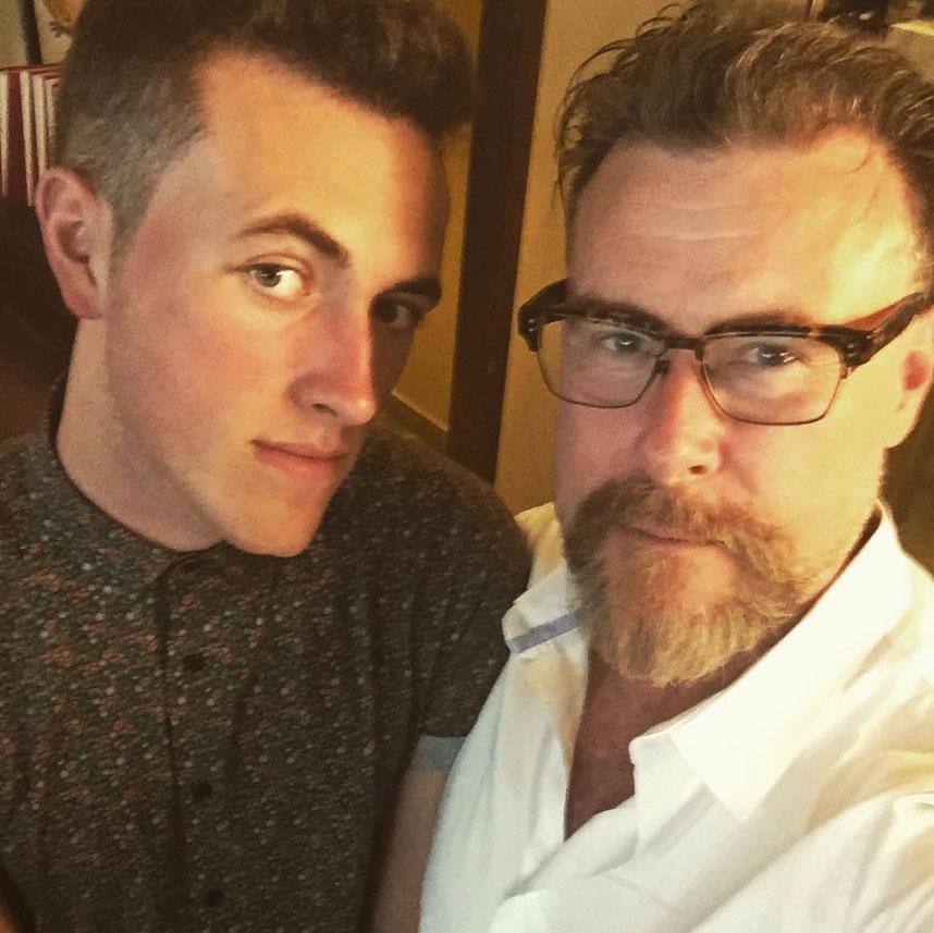 Dean McDermott and Jack McDermott