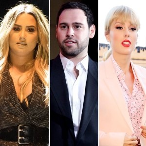 Demi Lovato Social Media Break Supporting Manager Scooter Braun Taylor Swift Feud