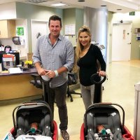 Doug Reinhardt and Mia Irons Celebrity Babies of 2019