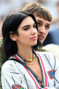 Dua Lipa and Anwar Hadid Kiss at London Music Festival