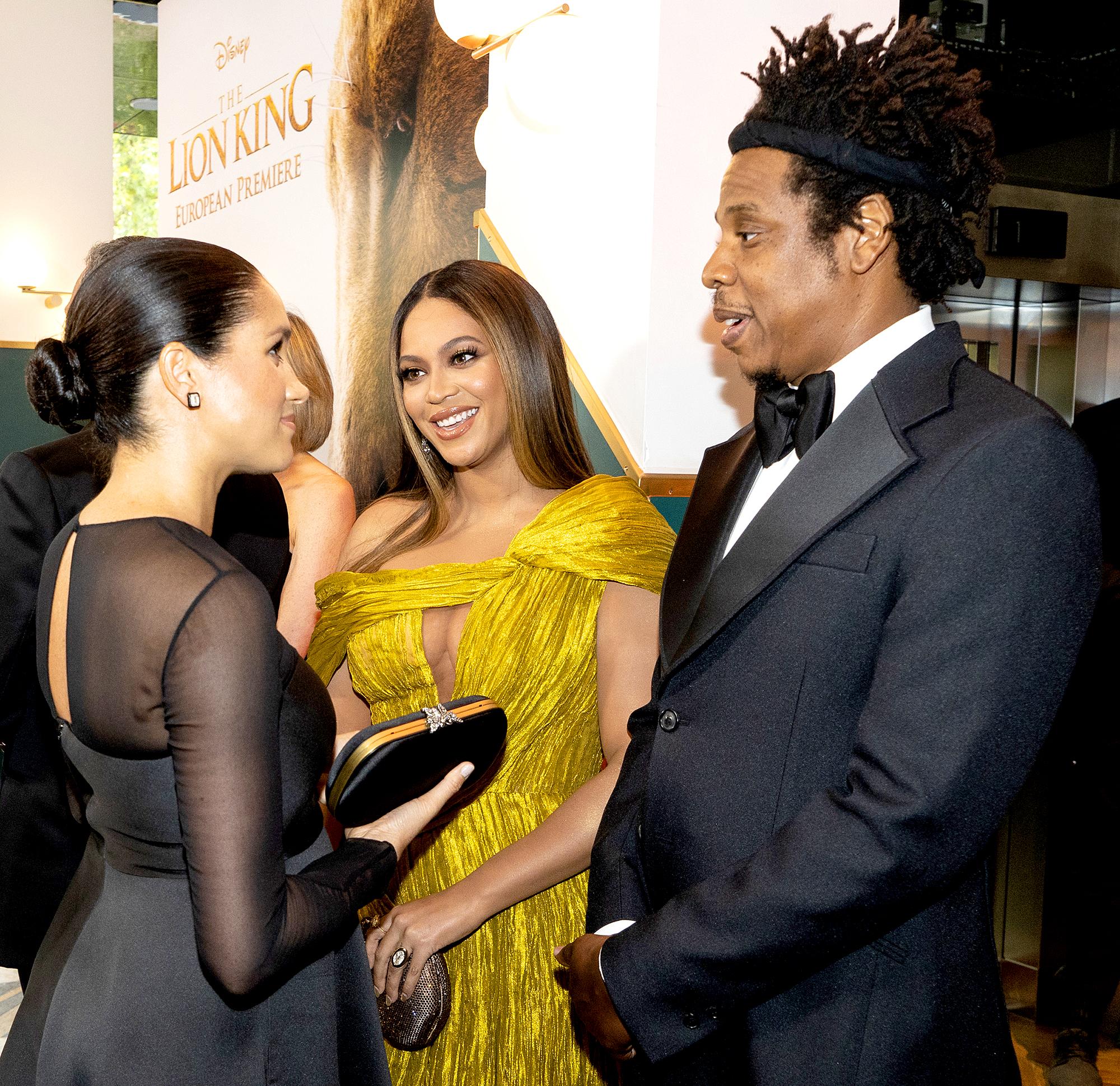 Duchess-Meghan-Beyonce-Jay-Z-Lion-King-premiere