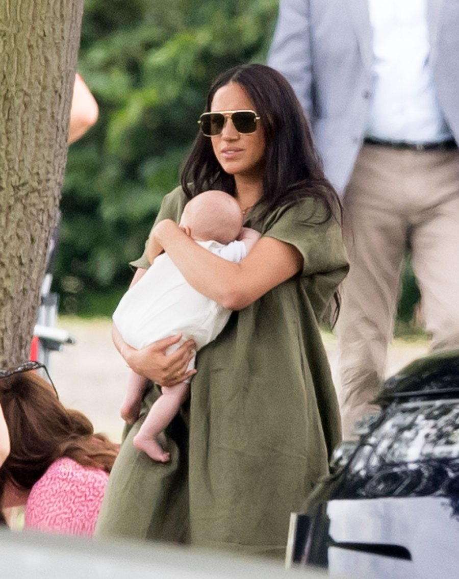 Duchess Meghan and Prince Harry's Son Archie Makes 1st Public Appearance at Charity Polo Match