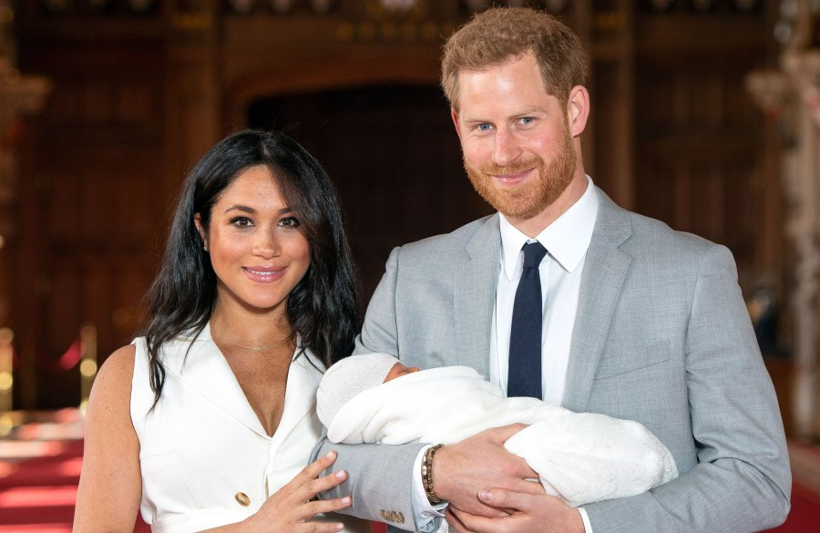 Duchess Meghan and Prince Harry Will Keep Son Archie's Godparents Private