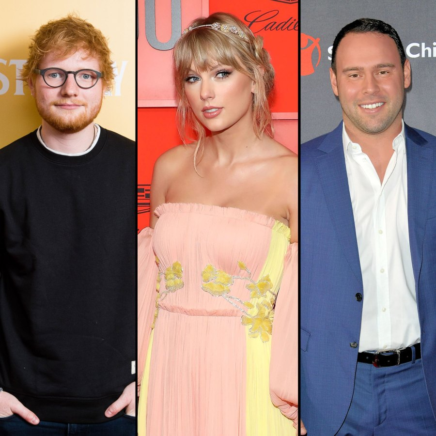 Ed Sheeran Breaks Silence On Taylor Swift and Scooter Braun