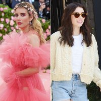 Emma Roberts Hair Change Blonde to Brunette
