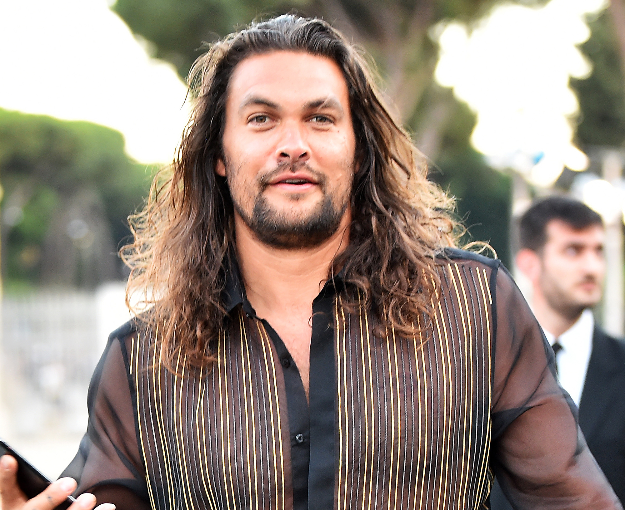 5e2614f8baee89 Fans Rally Behind Jason Momoa After He Is 'Dad Bod'-Shamed for Going  Shirtless on Vacation: It's a 'Come to Mama Bod'