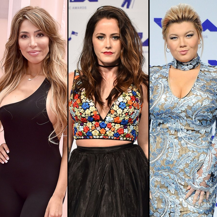 Farrah Abraham Says Jenelle Evans and Amber Portwood Failed as Mothers
