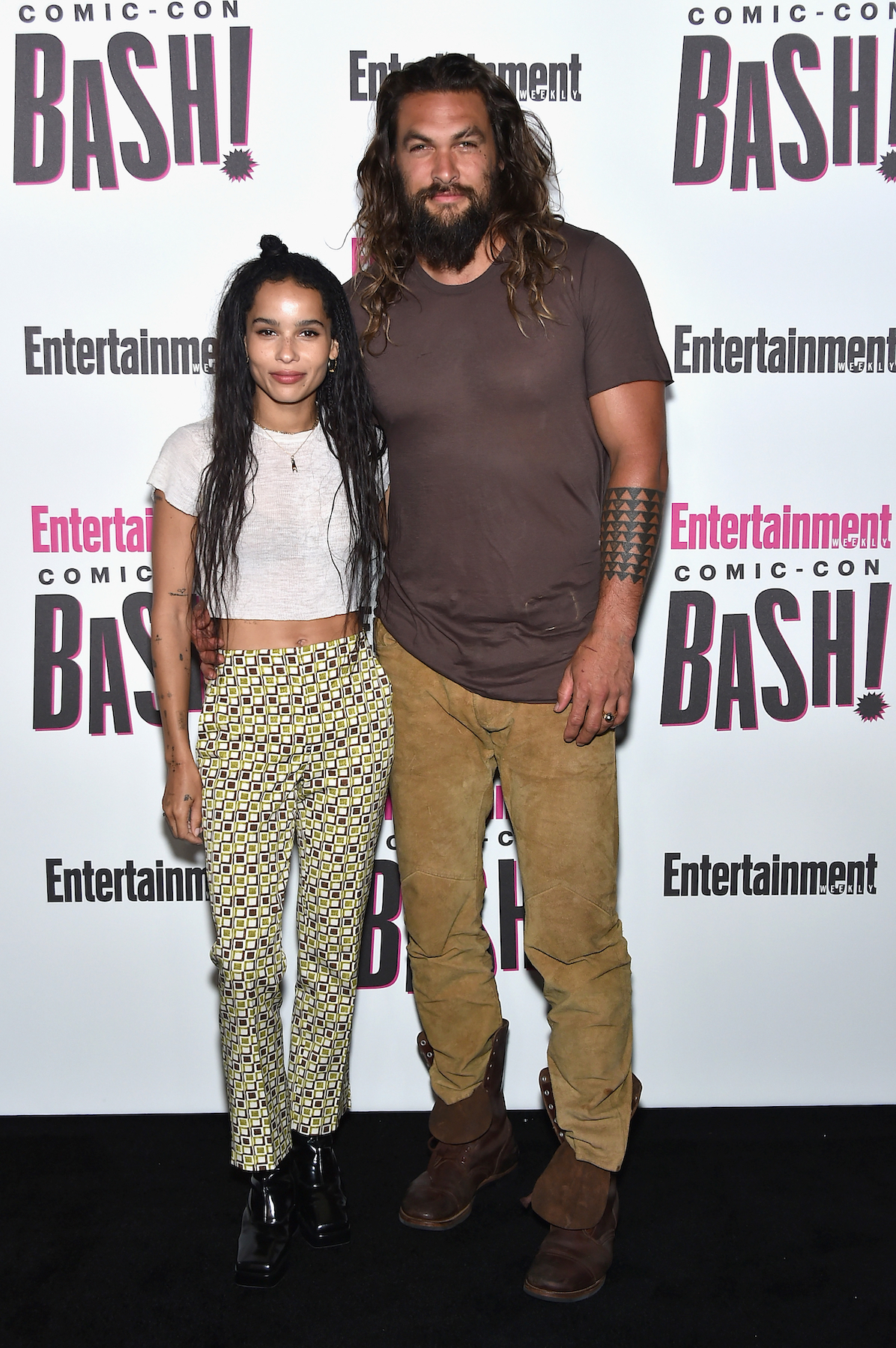 Jason Momoa Calls Stepdaughter Zoe Kravitz S Husband A Sexy Mf