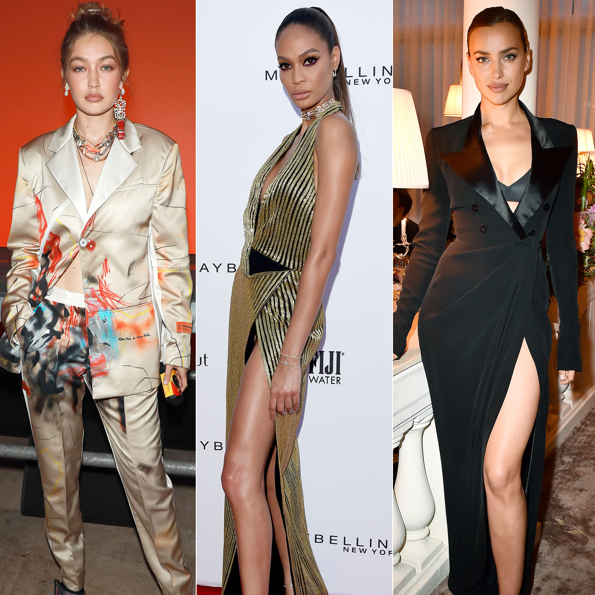 d26ab834515667 Today's Must-See: Gigi Hadid, Joan Smalls and Irina Shayk in a  Dynasty-Inspired Campaign