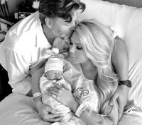 Gretchen Rossi and Slade Smiley Shares First Photos Newborn Daughter Skylar