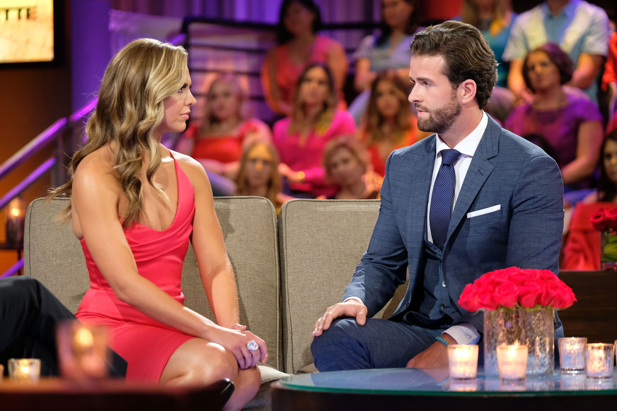 Hannah Brown and Jed Wyatt The Bachelorette Final