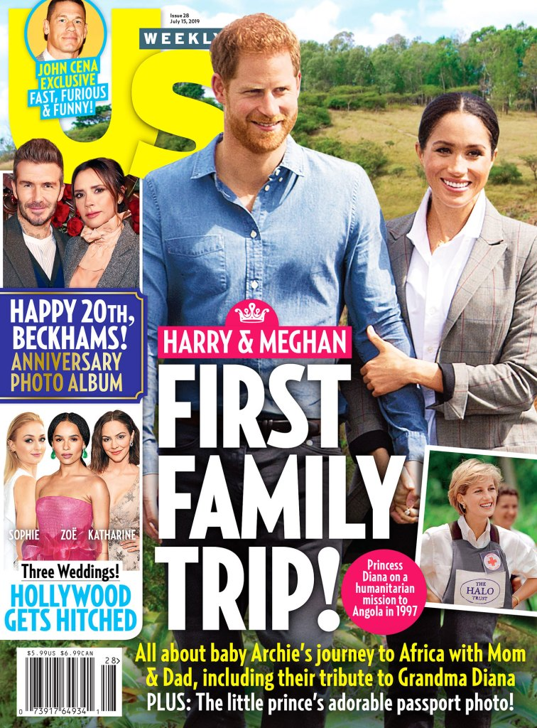 Harry and Meghan Taking Safety Precautions for Archie US Weekly Cover