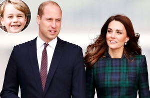 How Prince William Duchess Kate Are Already Prepping Prince George for Throne